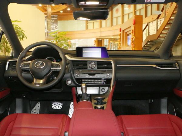 雷克萨斯  RX 200t 大中控全景