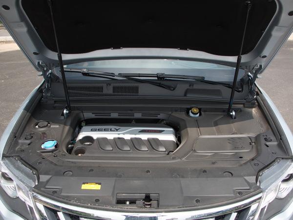 吉利汽车  1.8TD 发动机舱