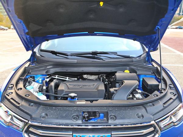 哈弗汽车  蓝标 发动机舱