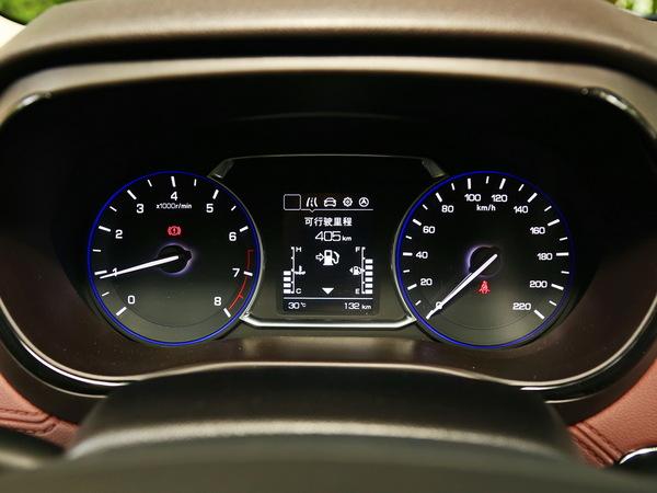 长安乘用车  基本型 仪表盘