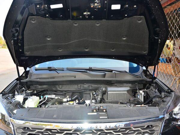 猎豹汽车  1.5T 发动机舱