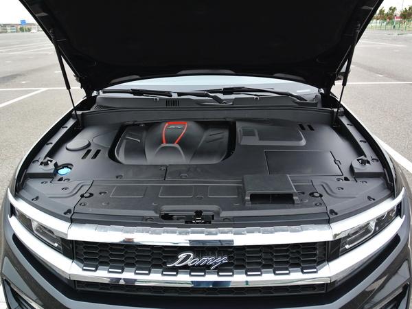 众泰  大迈X7  1.8T 发动机舱