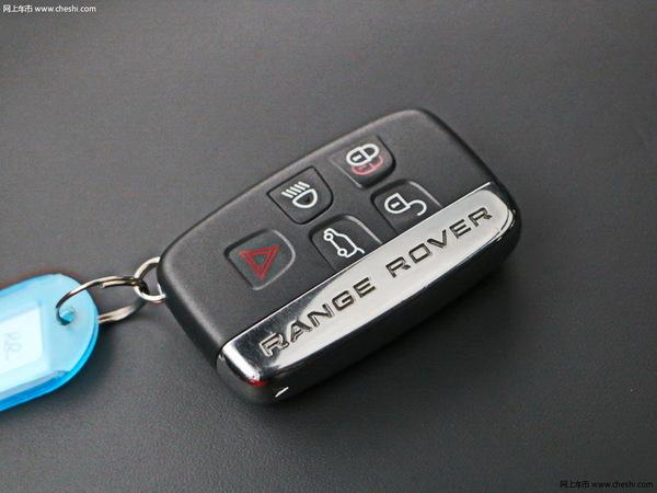 路虎  3.0 V6 SC 钥匙特写