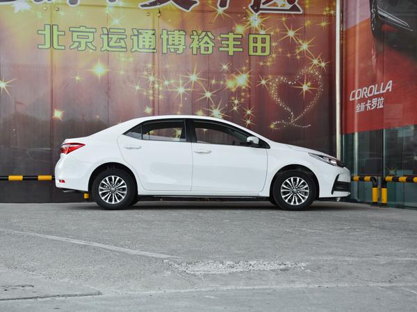 一汽丰田  改款 1.2T CVT 正右侧