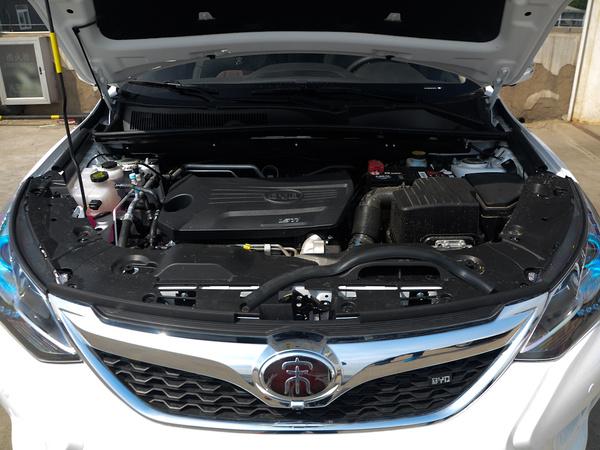比亚迪  盖世升级版 1.5TID 发动机舱