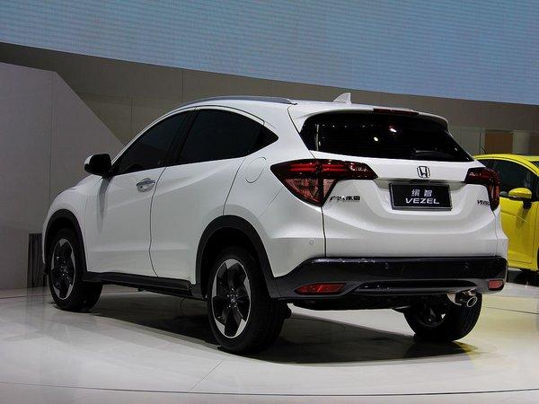 增1.5L引擎 广汽本田SUV缤智预售13万起