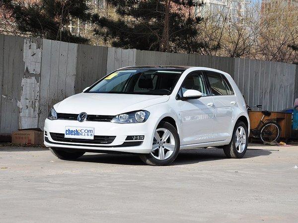 新款大众高尔夫限时优惠促销中北京直降5万现车销售图片