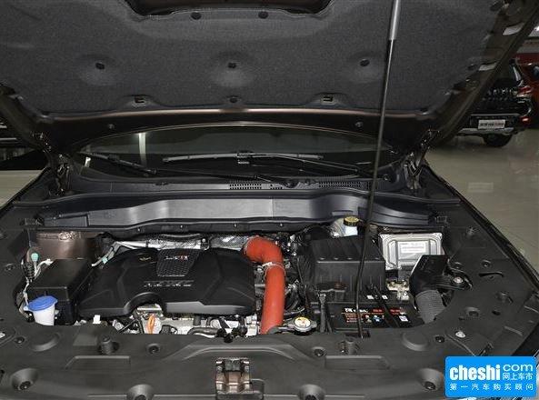 哈弗汽车 1.5t 自动 发动机局部特写
