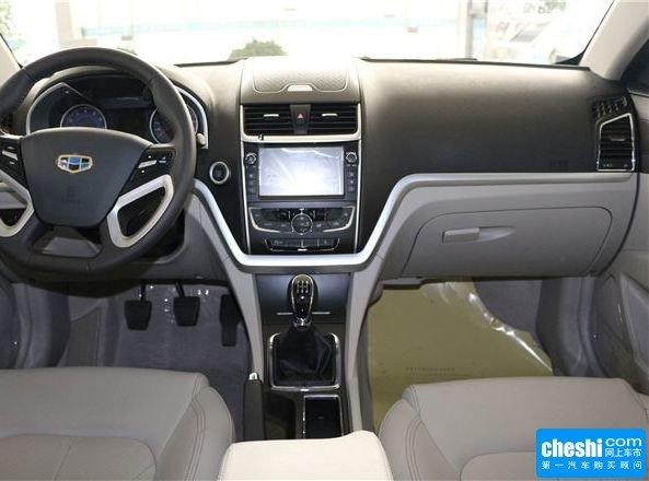 2016款帝豪EC7郑州降0.5万元 现车有售高清图片