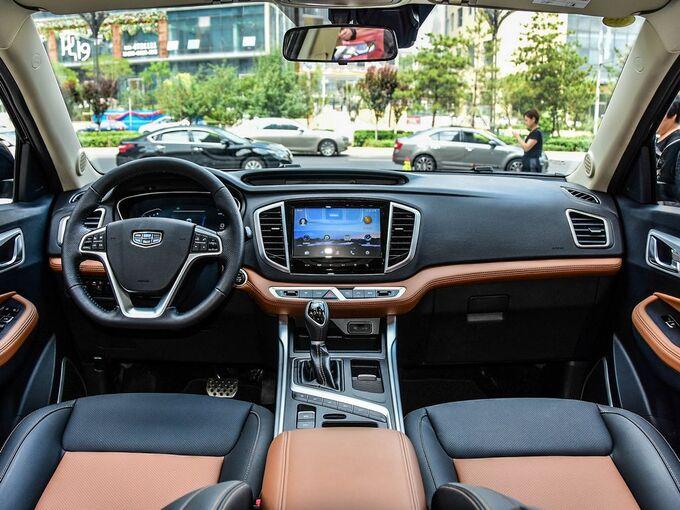 吉利汽车  1.4T CVT 大中控全景