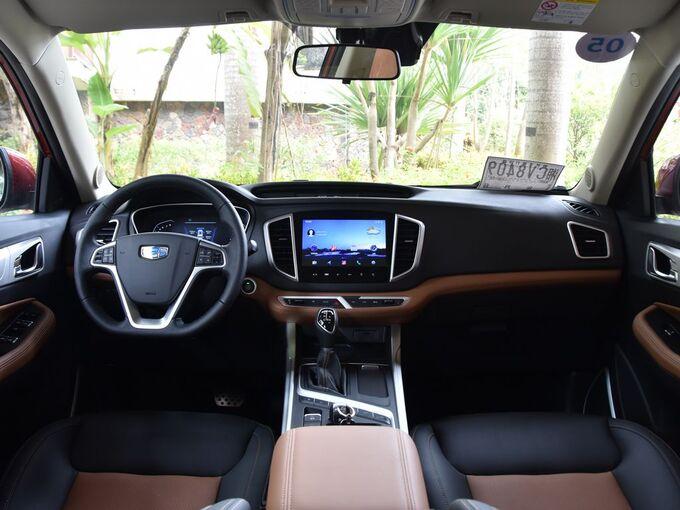 吉利汽车  1.4T CVT 4G互联旗舰型 大中控全景