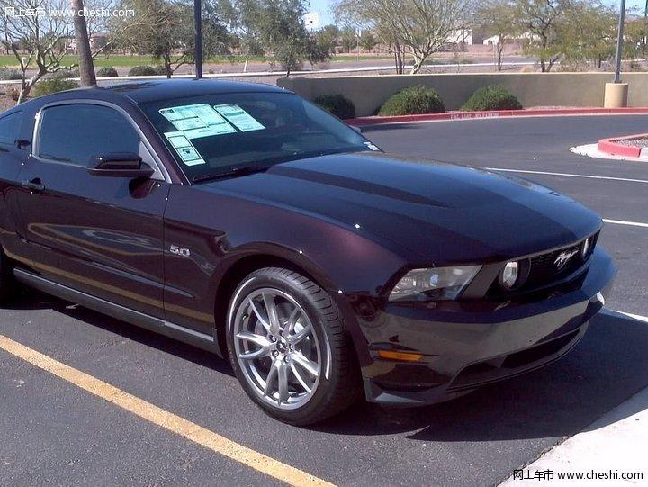 汽车图片 福特 野马 2012款 5.