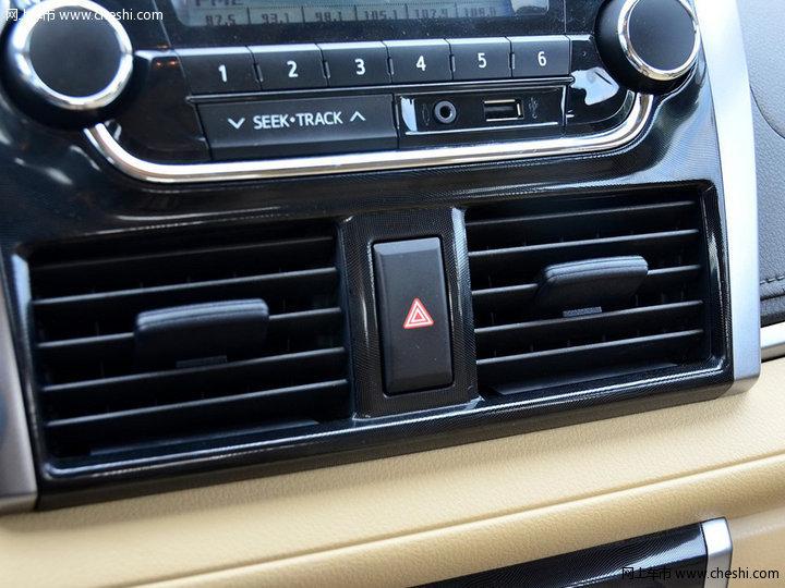威驰2014款 1.5l 自动智享版中控方向盘图片(11/17)