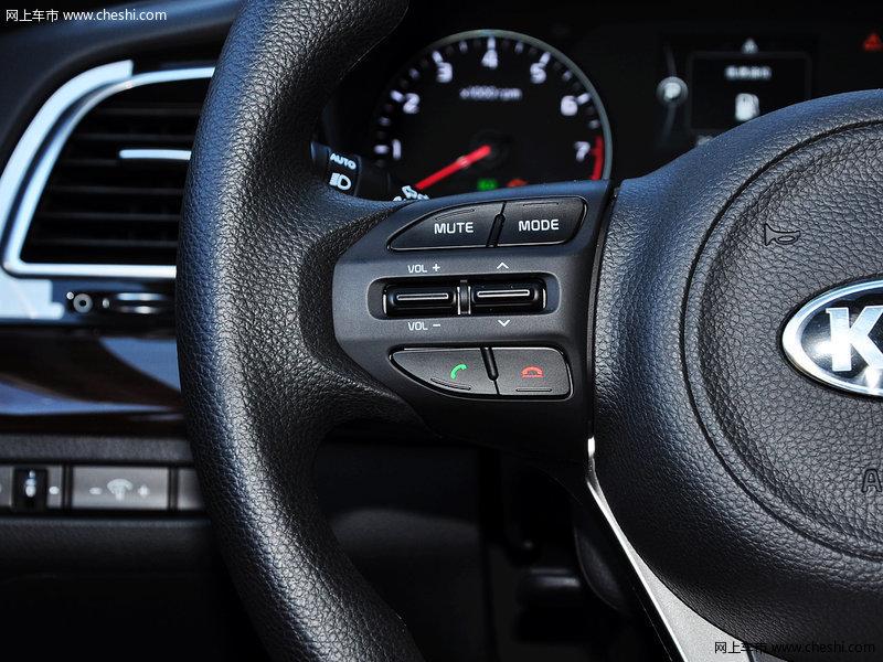 起亚k4 2014款 1.8l 自动gls中控方向盘图片(5/19)_车