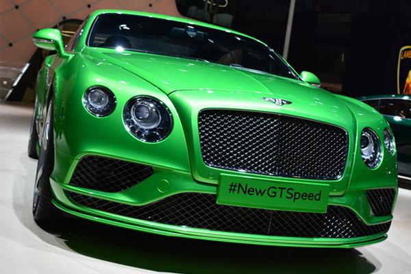 <strong>全新宾利欧陆GT Speed 上海车展实拍解析</strong>