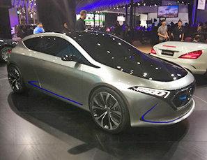 奔驰EQ-A概念车