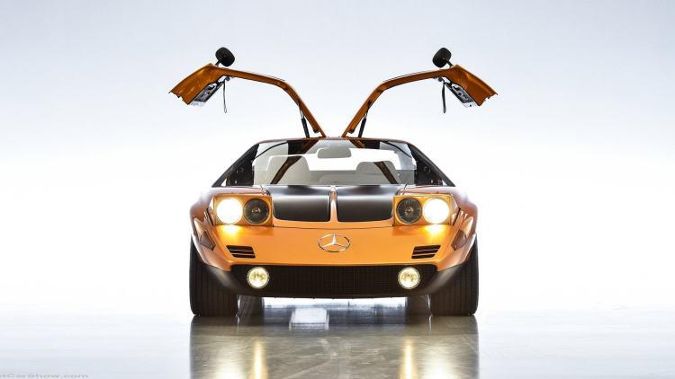 奔驰也有转子发动机?仅有11台/价值七千万