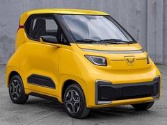 五菱Nano EV申报图曝光 纯电微型车外观小巧可爱
