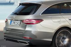 奔驰新一代C级旅行曝光 外观配AMG风格/灯组调整