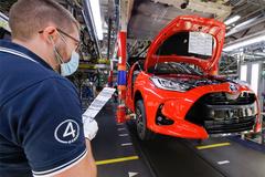 重新上路!丰田计划今年12月重新开启投产工作