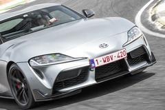 丰田跑车Supra猎装版曝光 搭3.0T引擎造型更精致