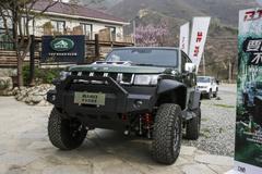 原厂就改装好!北京BJ40雨林穿越版上市 售26.99万