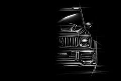 梅赛德斯-奔驰AMG G63改装版!4.0T动力升级更强