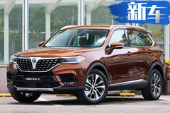 中华大7座SUV V9谍照曝光 内饰配连屏年内上市